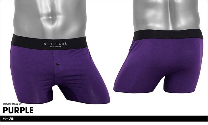 Gravevault グレイブボールト ATYPICAL バンブー メンズ ショートボクサーパンツ カラー画像