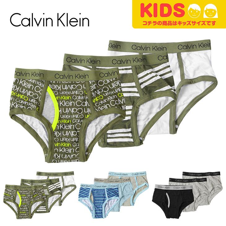 Calvin Klein カルバンクライン 【3枚組】BOYS CORE CLASSIC キッズ ボーイズ ブリーフパンツ メイン画像