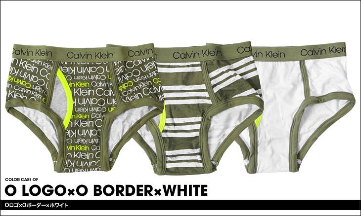 Calvin Klein カルバンクライン 【3枚組】BOYS CORE CLASSIC キッズ ボーイズ ブリーフパンツ カラー画像