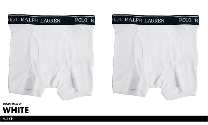 POLO RALPH LAUREN ポロ ラルフローレン 【2枚組】BOYS BOXER BRIEF 2PACK キッズ ボクサーパンツ カラー画像