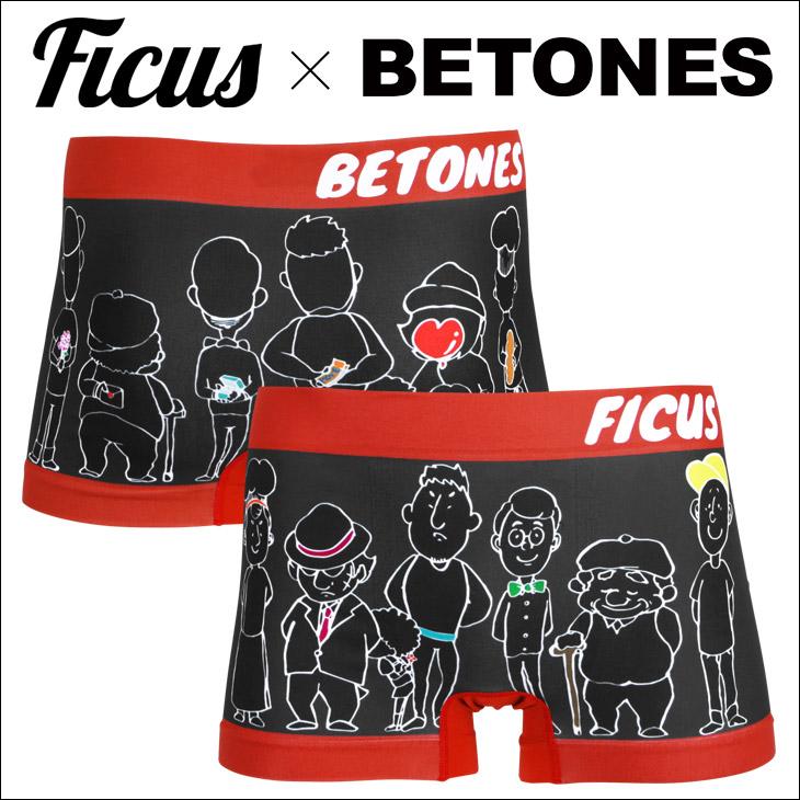 BETONES ビトーンズ FICUS×BETONES BOYS メンズ ボクサーパンツ メイン画像
