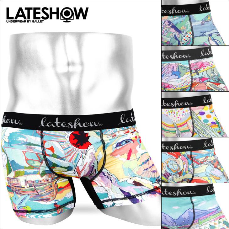 LATESHOW レイトショー LATESHOW×ASAKURA KOUHEI ボクサーパンツ メイン画像