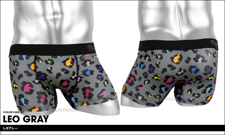 FICUS フィークス Various LEO メンズ ボクサーパンツ カラー画像