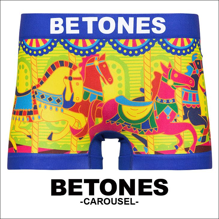 BETONES ビトーンズ CAROUSEL メンズ ボクサーパンツ メイン画像
