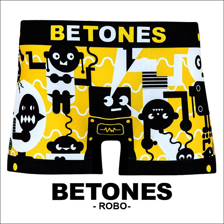 BETONES ビトーンズ ROBO メンズ ボクサーパンツ メイン画像
