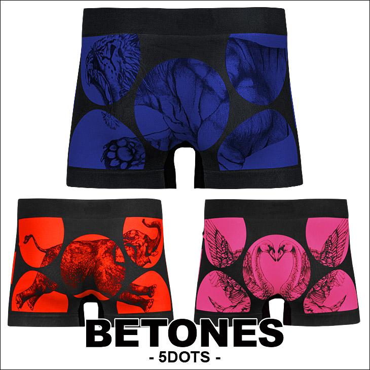 BETONES ビトーンズ 5DOTS メンズ ボクサーパンツ メイン画像