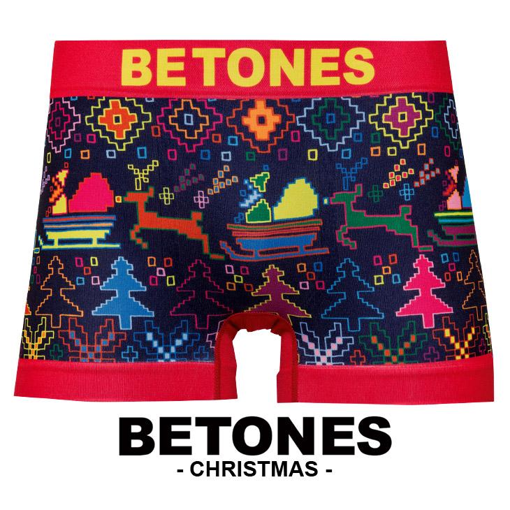 BETONES ビトーンズ CHRISTMAS メンズ ボクサーパンツ メイン画像