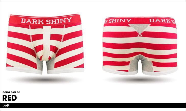 DARK SHINY ダークシャイニー BORDER メンズ ボクサーパンツ カラー画像