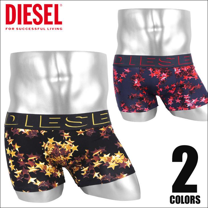 DIESEL ディーゼル STAR メンズ ローライズボクサーパンツ メイン画像