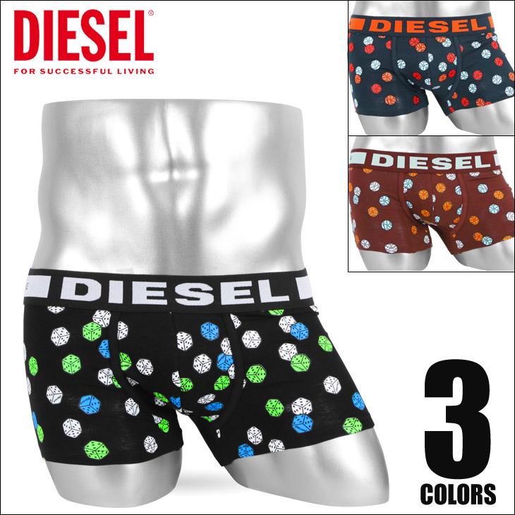 DIESEL ディーゼル DICE メンズ ローライズボクサーパンツ メイン画像