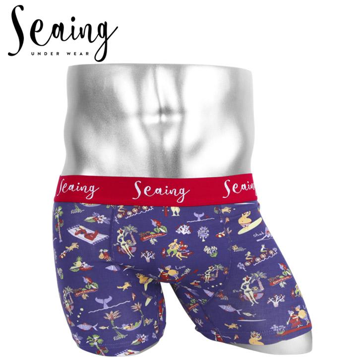 Seaing シーング CORAL BEACH メンズ ボクサーパンツ メイン画像