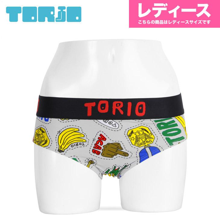 TORIO トリオ ステッカー レディース ショーツ メイン画像