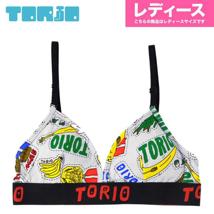 TORIO トリオ ステッカー レディース スポーツブラ メイン画像
