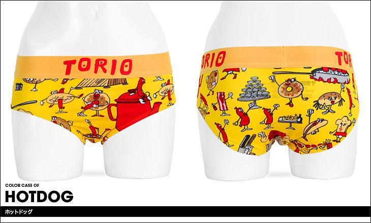 TORIO トリオ ホットドック レディース ショーツ カラー画像