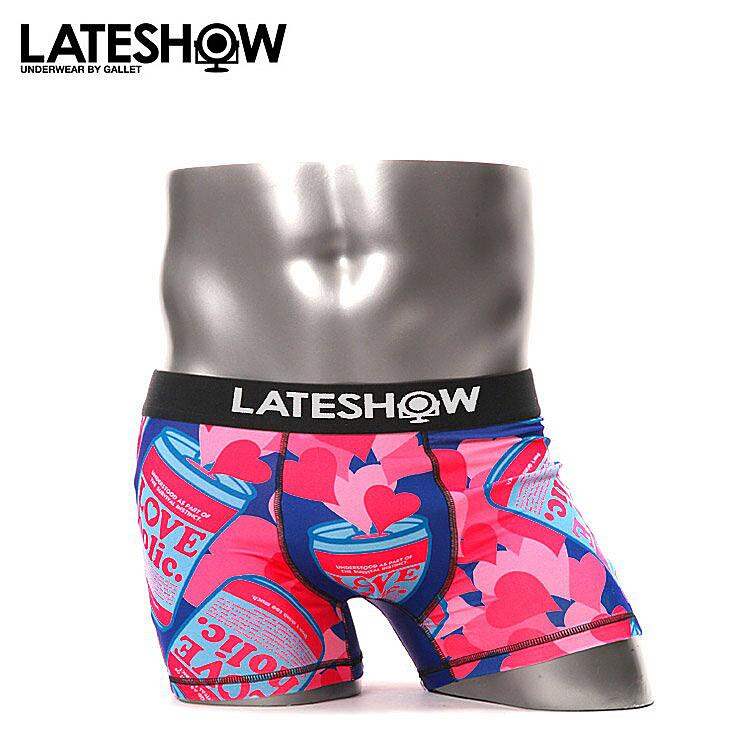 LATESHOW レイトショー LOVEHOLIC ボクサーパンツ メイン画像