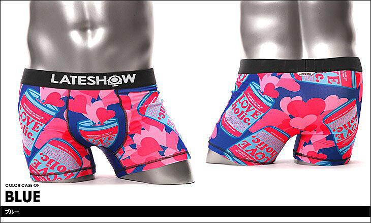 LATESHOW レイトショー LOVEHOLIC ボクサーパンツ カラー画像