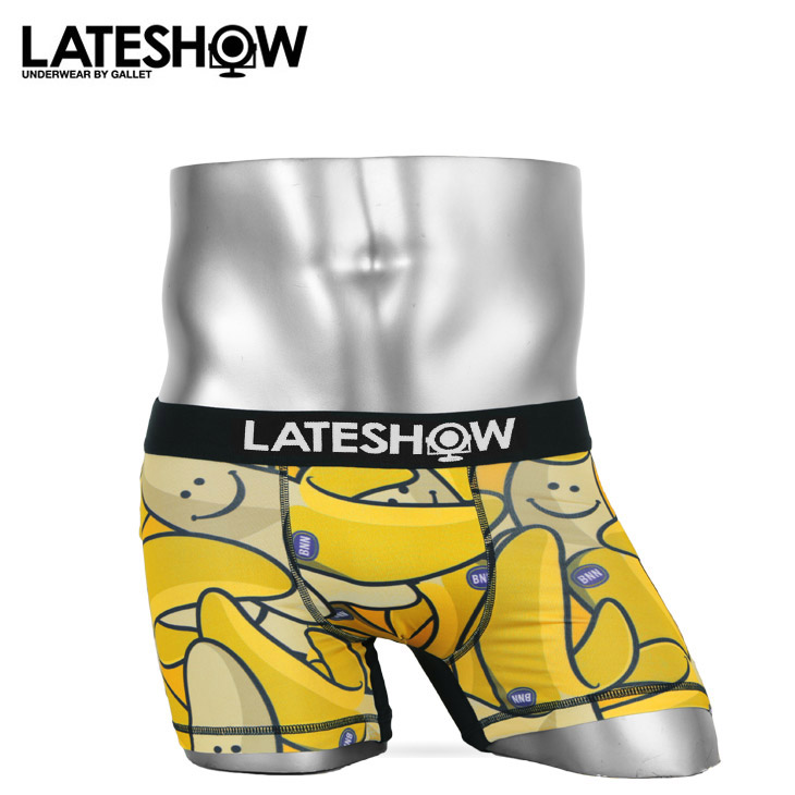 LATESHOW レイトショー Nece to See you メンズ ボクサーパンツ メイン画像