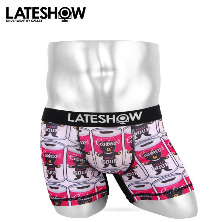 LATESHOW レイトショー ベア— メンズ ボクサーパンツ メイン画像