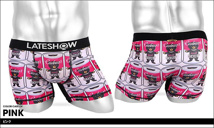 LATESHOW レイトショー ベア— メンズ ボクサーパンツ カラー画像
