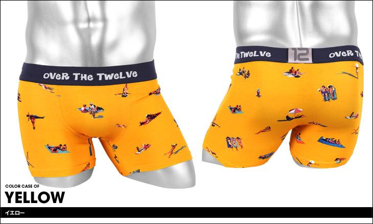 OVER THE TWELVE オーバーザトゥエルブ BEACH メンズ ボクサーパンツ カラー画像