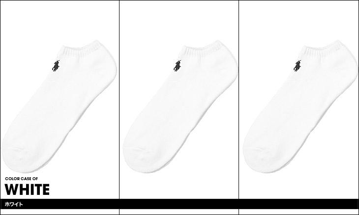 POLO RALPH LAUREN ポロ ラルフローレン 3 PACK ? CLASSIC COTTON ソックス カラー画像