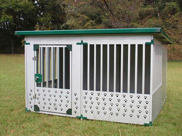 ドッグハウス DFD-2(1坪タイプ屋外用犬小屋)床なしタイプ