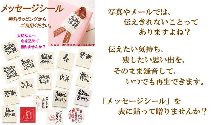 メッセージボイスカード「レコボ」