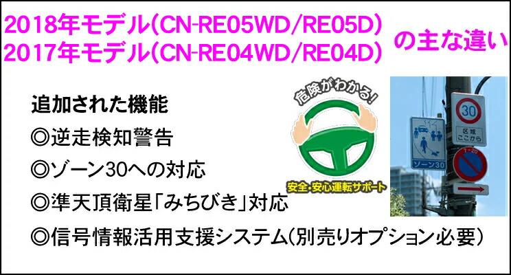 7 inches of Panasonic Strada CN-RE05WD 4*4 full Segou terrestrial digital  incorporation wide 16GB SD navigation iPod/CD/DVD/USB/Bluetooth/VICS