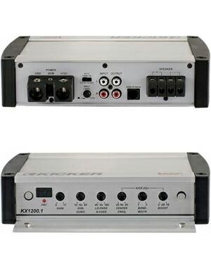 KICKER kicker KX1200 1 rating output 1200W@2Ω/600W@4Ω monaural sub woofer  power amp