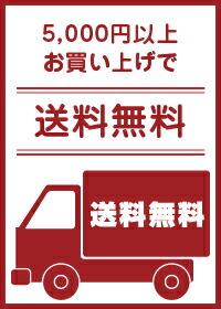 お買い上げ5000円以上で送料無料