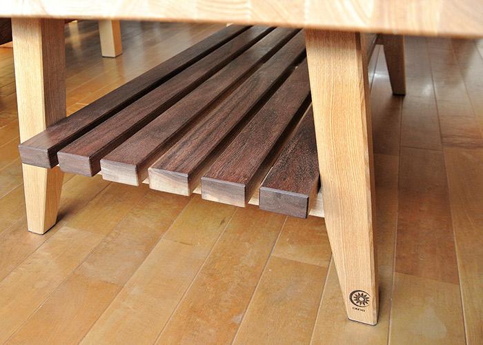 木製 コーヒーテーブル