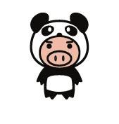 トントン 豚 パンダ
