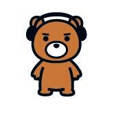 ウォーくま くま クマ 熊 ウォークマン