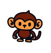 ウンキッキー 猿 サル さる