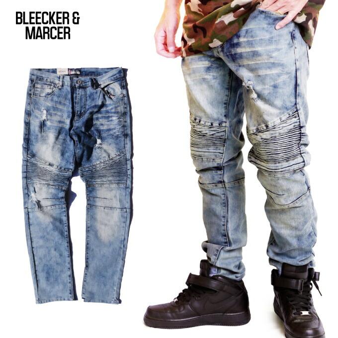 BLEECKER & mercer スキニーデニム パンツ