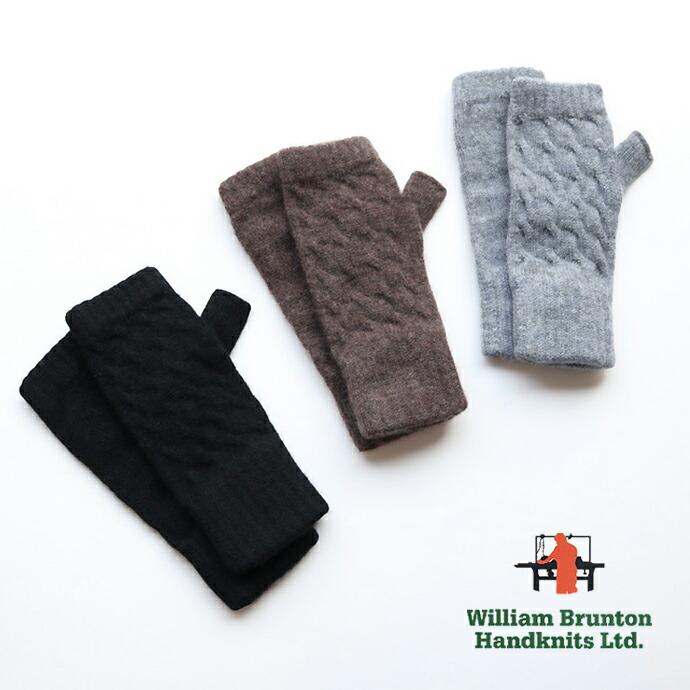 William Brunton  *ウィリアムブラントン カシミアケーブルリストウォーマー