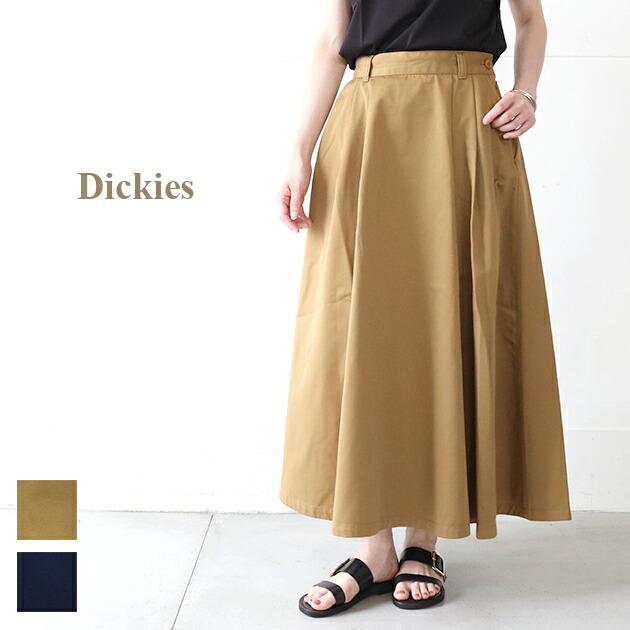 Dickies *ディッキーズ   TCツイルタックロングスカート