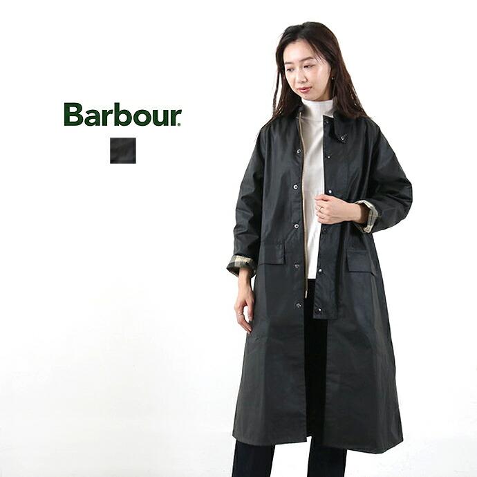 Barbour *バブアーワックスドコットンステンカラーコート【LADIES BURGHLEY】