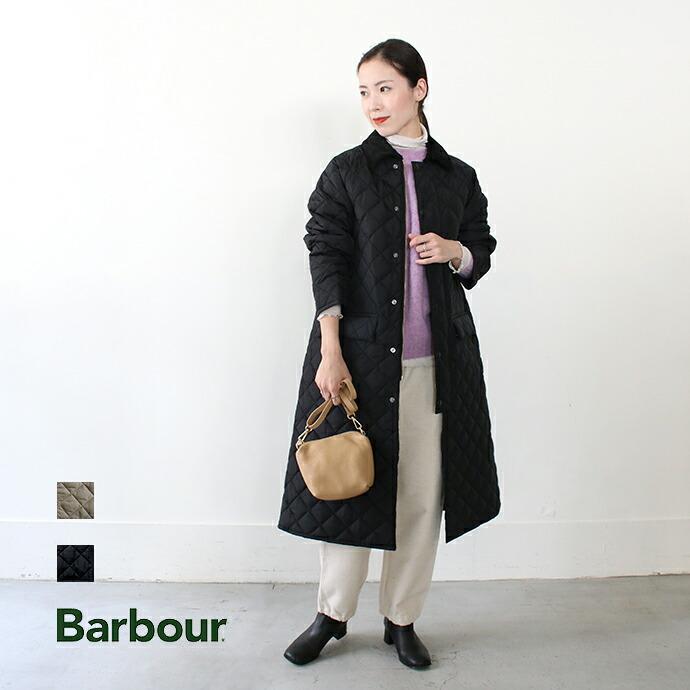 Barbour * バブアー  LADIES BURGHLEY NYLON COAT SLQ0023