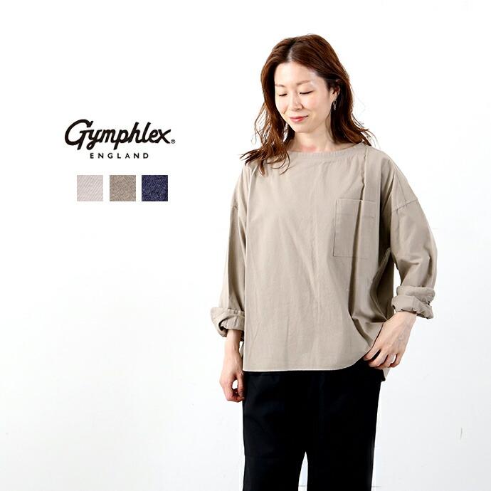 GYMPHLEX*ジムフレックス ビエラ起毛プルオーバーシャツ
