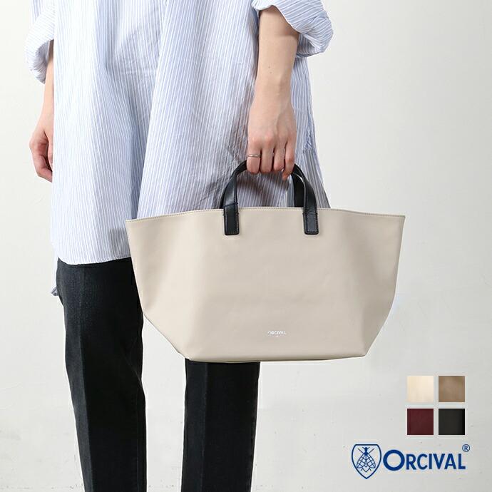 ORCIVALPVCキャンバストートバッグ