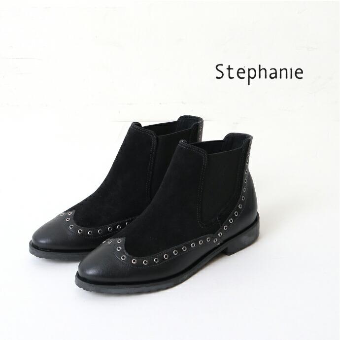 Stephanie *ステファニー スウェードショートブーツ