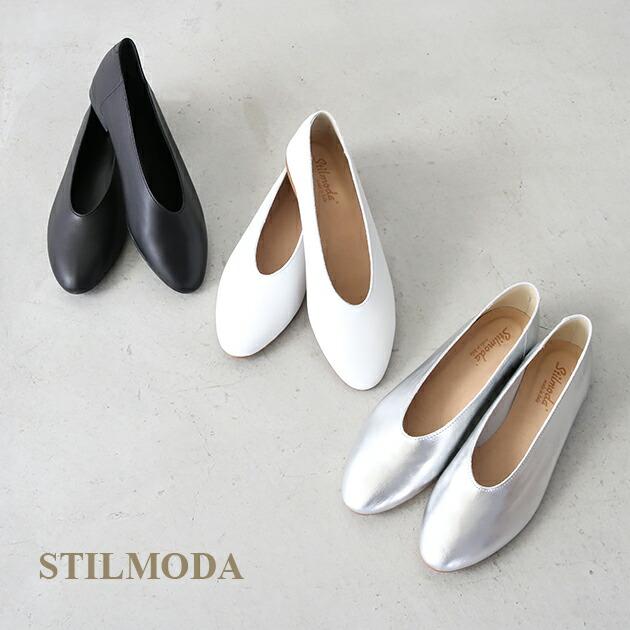 STILMODA *スティルモーダ レザーフラットシューズ