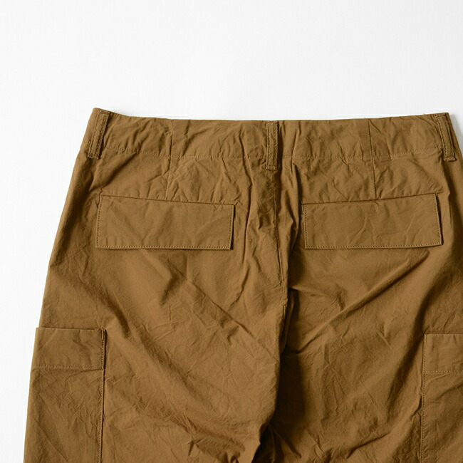 STILL BY HAND steal by hand easy cargo pant, PT0282 #0708