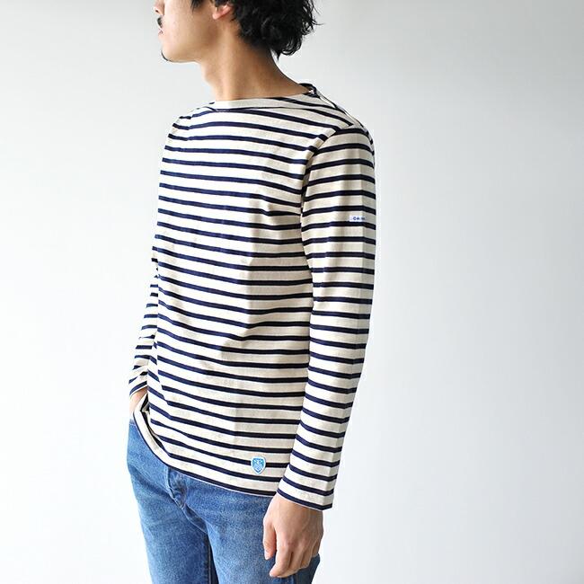 オーシバル/オーチバル(ORCIVAL )ボートネック長袖Tシャツの特徴