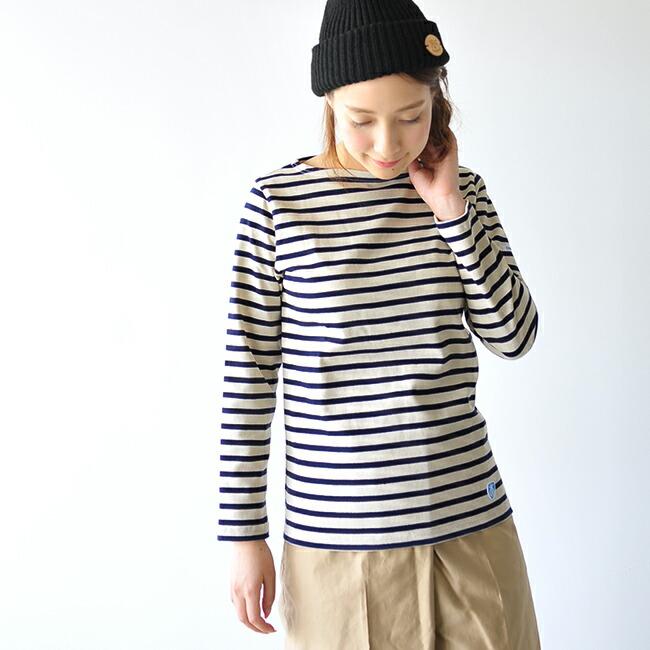 オーシバル/オーチバル(ORCIVAL )ボートネック長袖Tシャツの気になるサイズ感は?