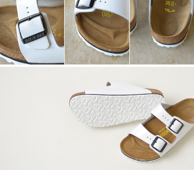 birkenstock arizona white leather