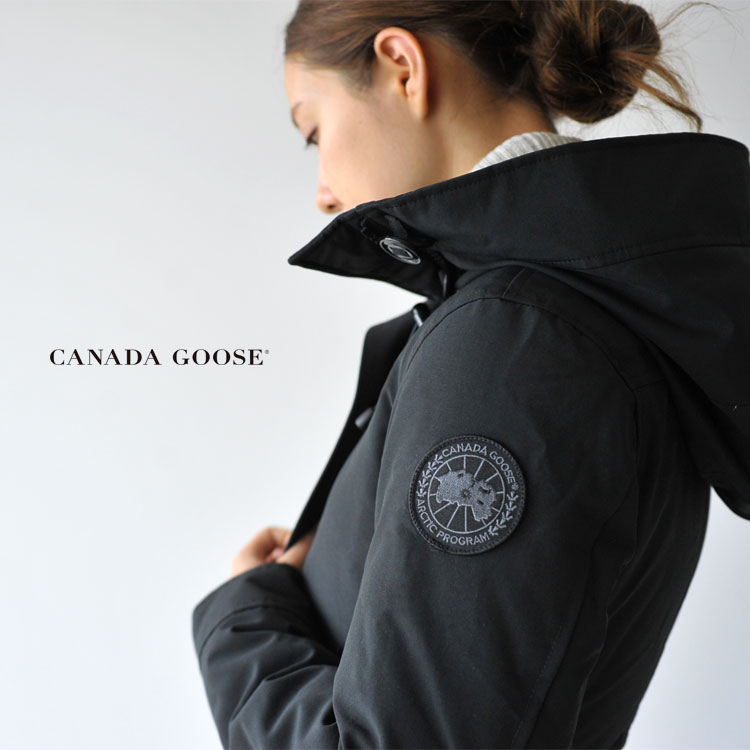 Domestic regular store CANADA GOOSE RIDEAU PARKA BLACK LABEL re-dorper  curve rack label down jacket, 3800LB Canada goose