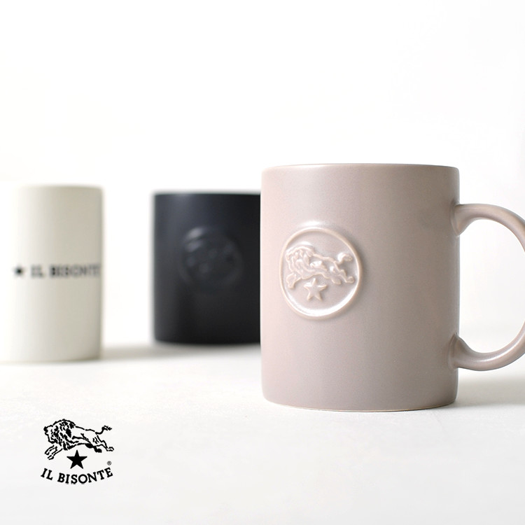 ef1c3ee84a14 楽天市場】L BISONTE イルビゾンテ ロゴデザイン マグカップ コップ ...