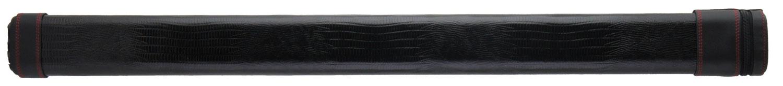 ウィットン ケース WHI12-BKL/SBk DRS リザード型押し ダブルレッドステッチ